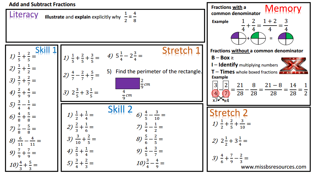 math worksheet : number maths differentiated worksheets : Simplifying ...