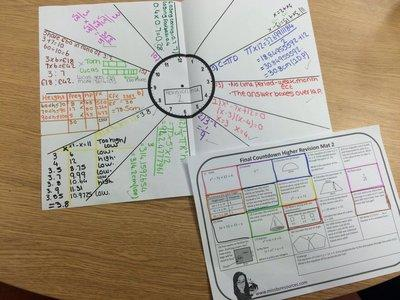 Maths Exam Question GCSE Revision Mat