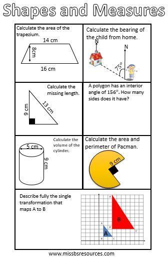 Maths Revision Passports New GCSE