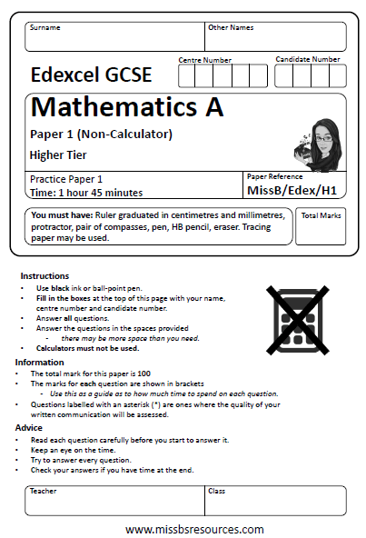 edexcel intermediate maths past papers It is intended that the specimen papers and mark schemes contained in this  booklet  grade c or better in gcse mathematics during the past five years  year 2004  a teacher recorded the scores in a mental maths test for her year  10 class.
